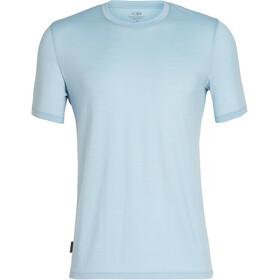 Icebreaker Tech Lite Bluzka z krótkim rękawem Mężczyźni niebieski